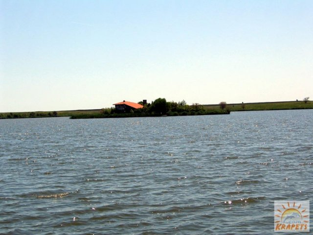 Small island at Durankulak lake